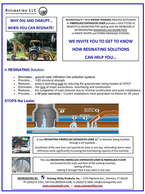 Resinating Fiberglass Expansion Liners