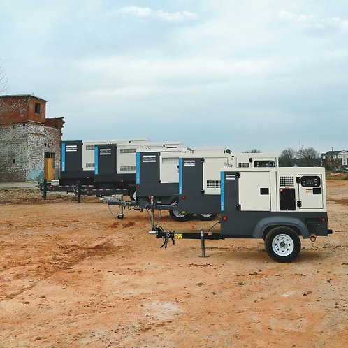 The QAS range: mobile diesel generators from 25 to 330 kVA The power to evolve
