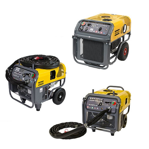 Hydraulic Power Packs - fueled for outdoor use and electric for indoor use