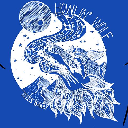 Howlin Wolf T-Shirt -Royal Blue
