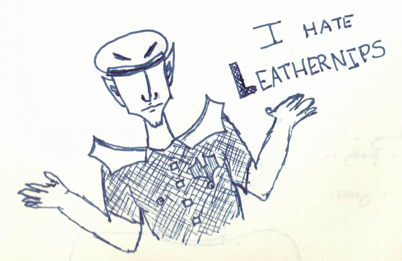 Leathernips