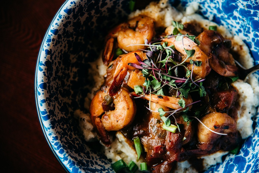 Shrimp + Grits