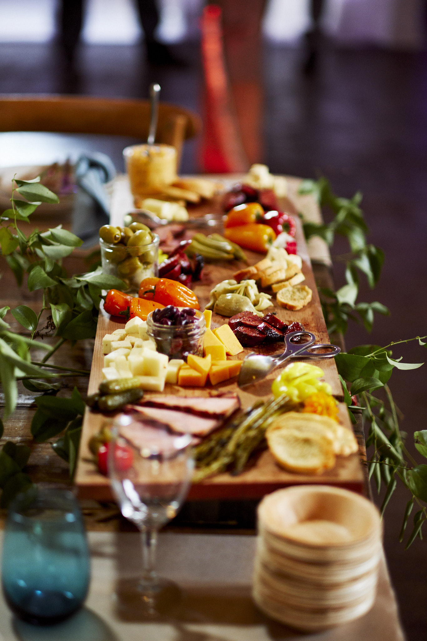 southern antipasto tableside