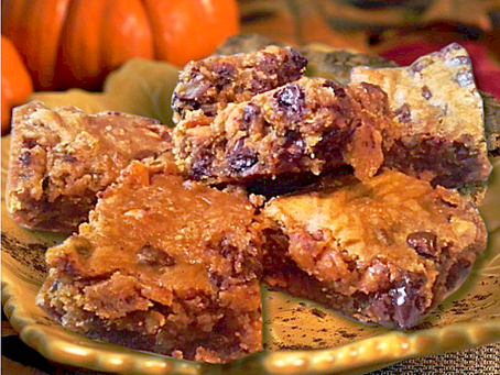 Ultimate Pumpkin Blondies