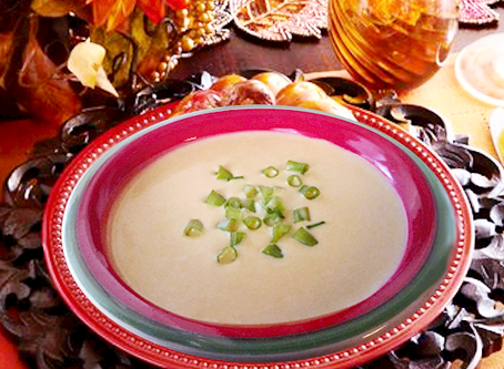 Elegant Coconut, Pumpkin, and Coriander Bisque