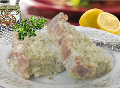 Glazed Lemon-Thyme Zucchini Bread