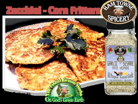 Zucchini - Corn Fritters