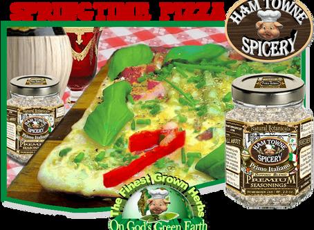 Springtime Pizza
