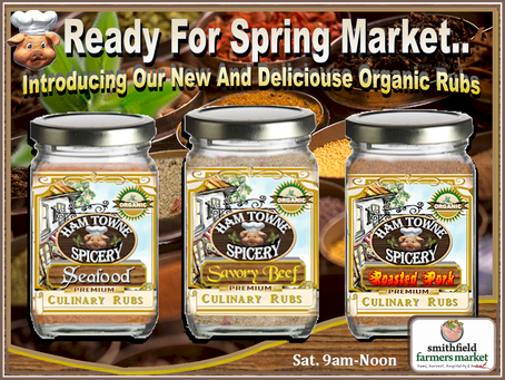 New Herb & Spice Rubs 2016 Market