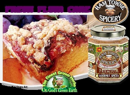 Fresh Plum Cake