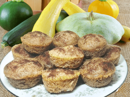 MINI YELLOW SUMMER SQUASH MUFFINS