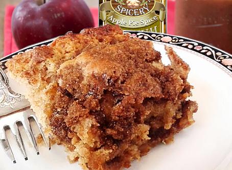 Apple Butter Coffee Cake