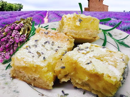 Luscious Lemon - Lavender Bars