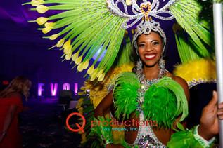 Larger-than-life Samba Greeter