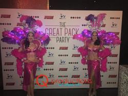 Step & Repeat LED Showgirls