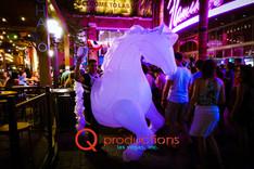 LED Strolling Horse