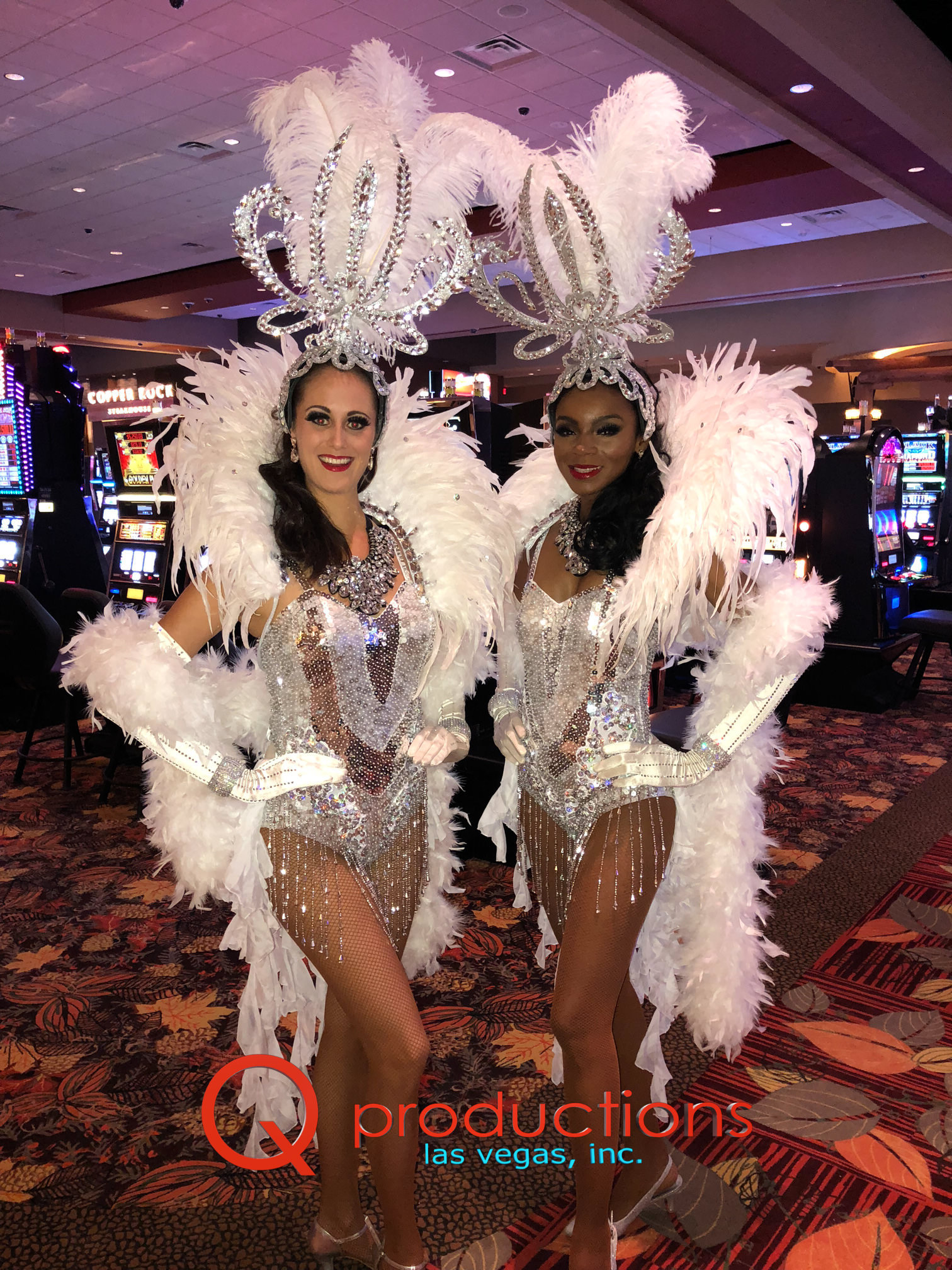 Glamour Silver Showgirls