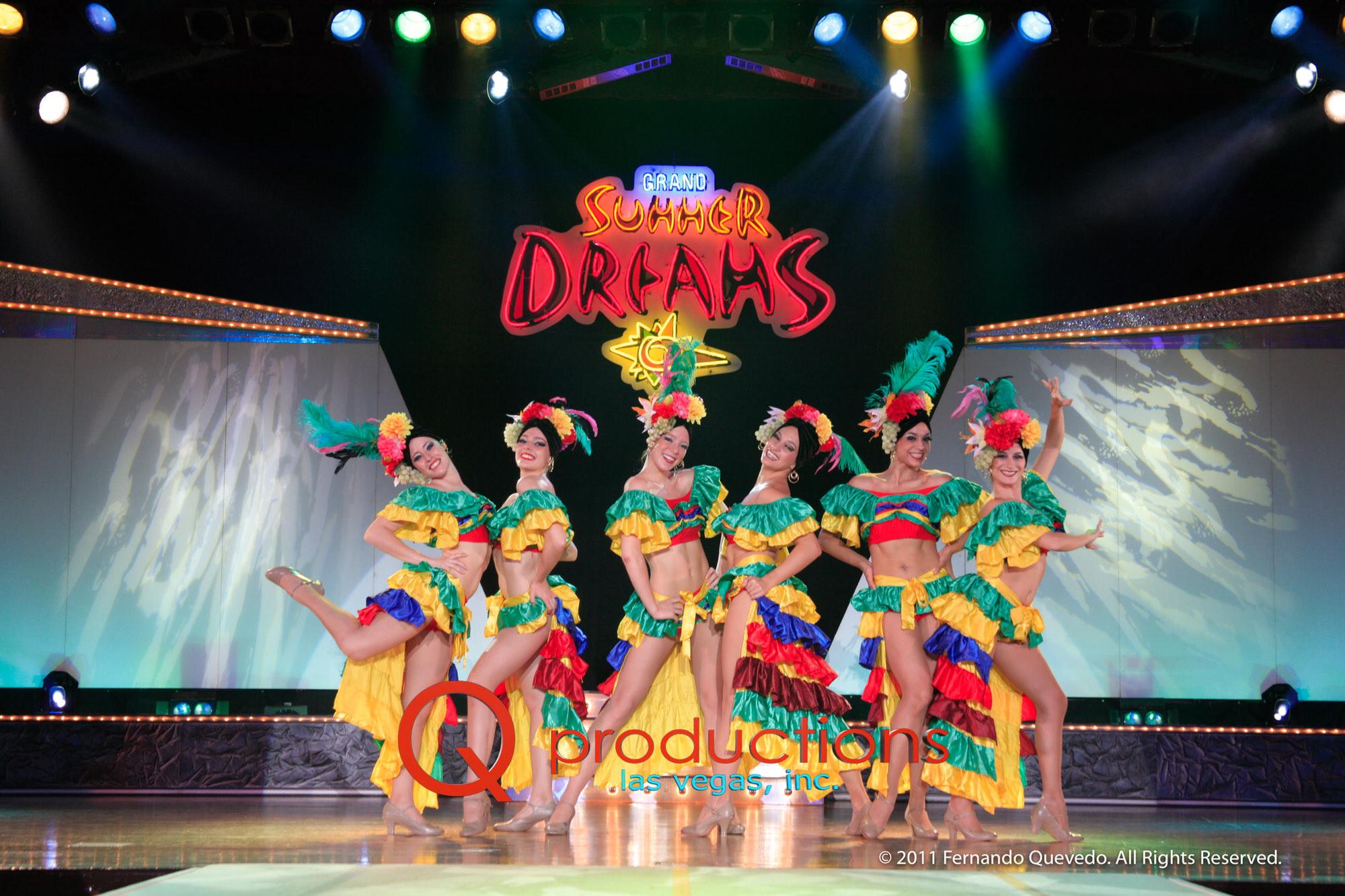 Tropical Dancers