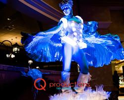 LED Windtunnel Go-Go Dancer