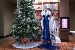 Winter Towering Showgirl Glamazon