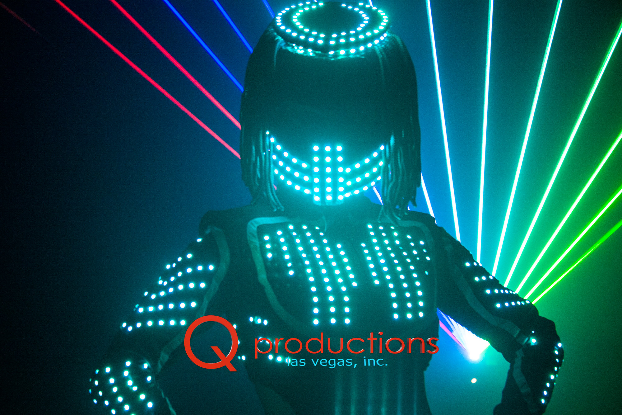 Female LED Robot