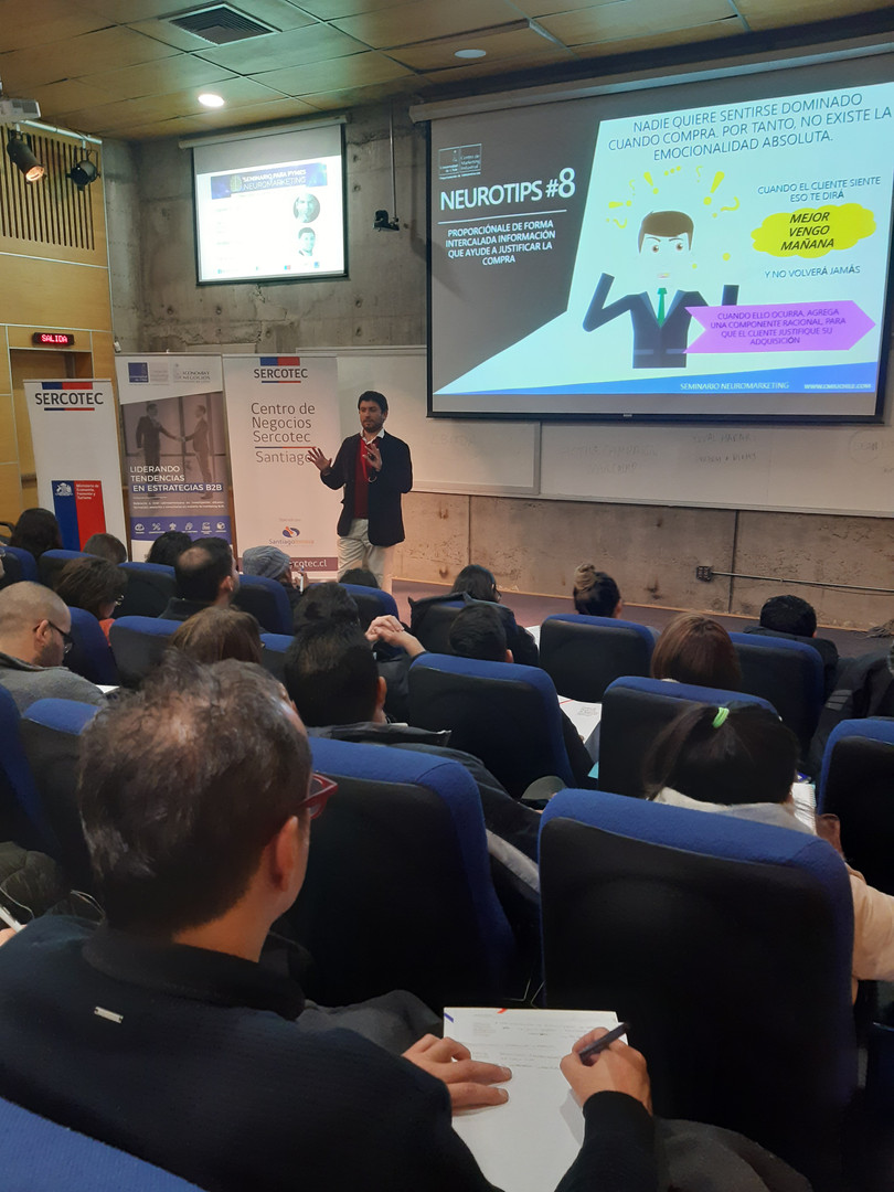 Seminario neuromarketing Santiago