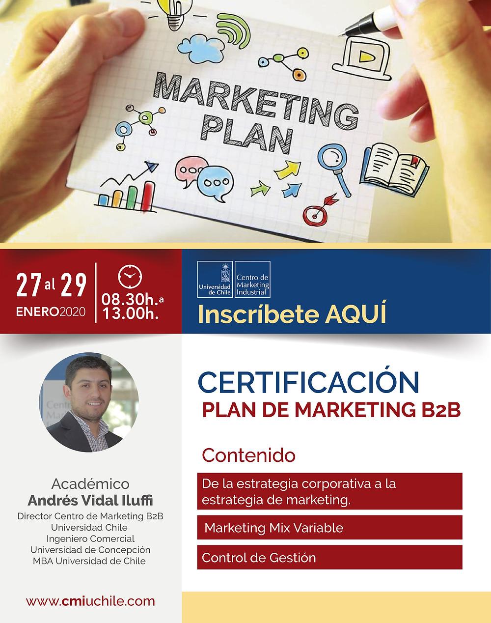 Próximas Actividades  Centro de Marketing Industrial