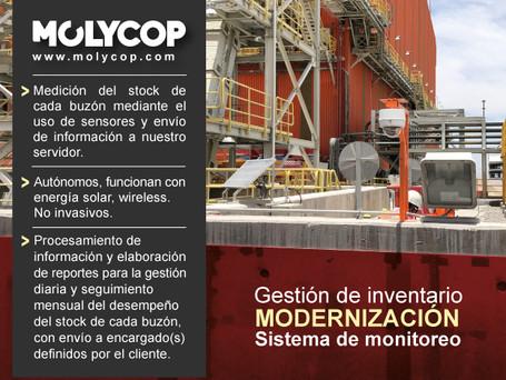 MOLYCOP: Modernización del Sistema de Monitoreo y Gestión de Inventario