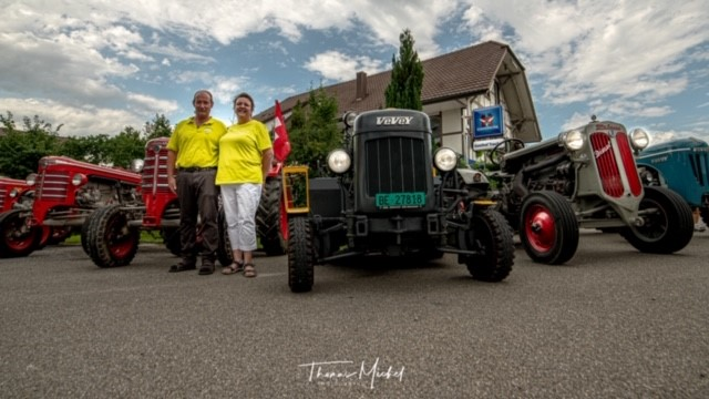 Oltimer-Traktoren