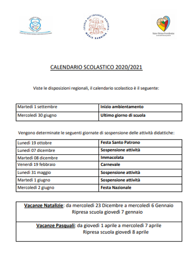 CALENDARIO SCOLASTICO INFANZIA E PRIM.pn