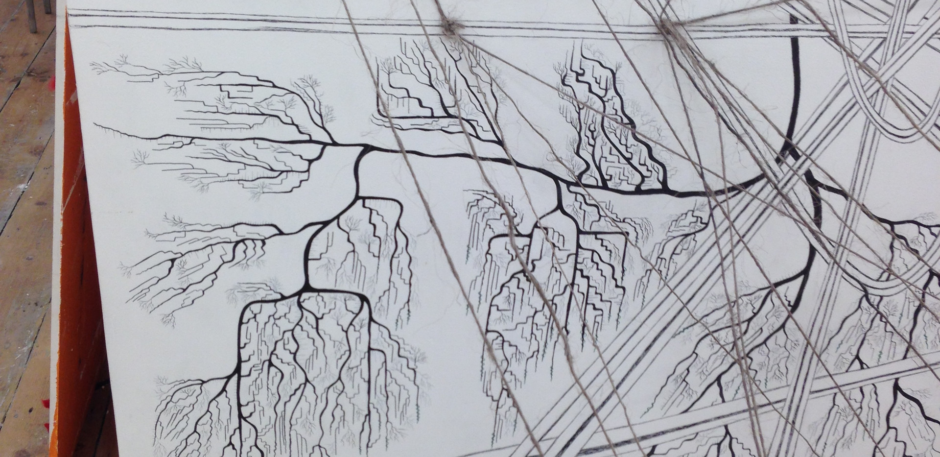 Close-up of an Installation, Complex Systems