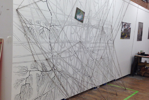 Side View of an Installation, Complex Systems