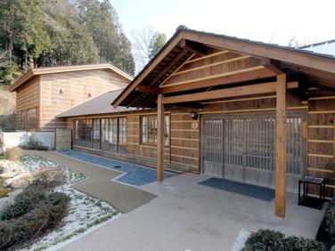 富岳荘 玄関