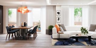 Apartment 15 Living area