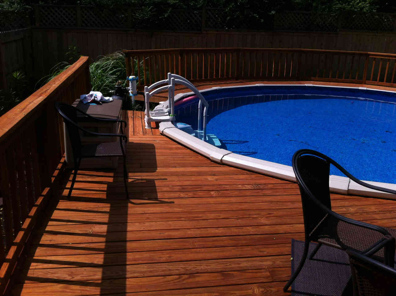 Stained Deck in Memphis