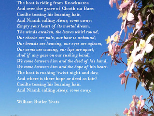 W.B. Yeats poem - The Hosting of the Sidhe