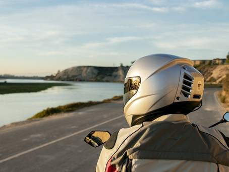 Ever Heard Of An Air Conditioned Helmet? No, We Didn't Either, Until Now...