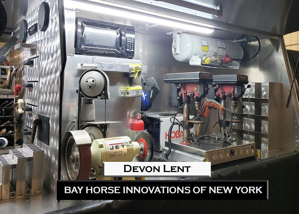 New Custom Farrier rig by Bay Horse Innovation NY for Devon Lent!