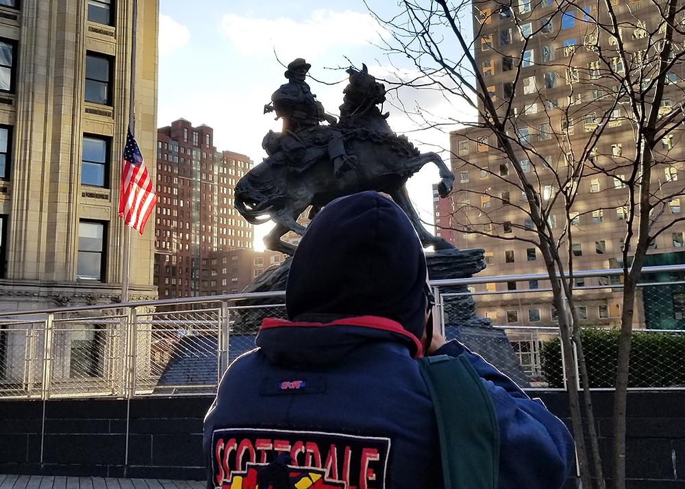 America's Response Monument Michael Troxler February 2019