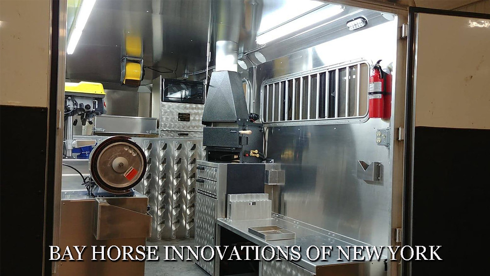 Custom farrier interior by Bay Horse Innovations of New York