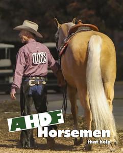 Travis Braden Leading Horse Smile Horsem