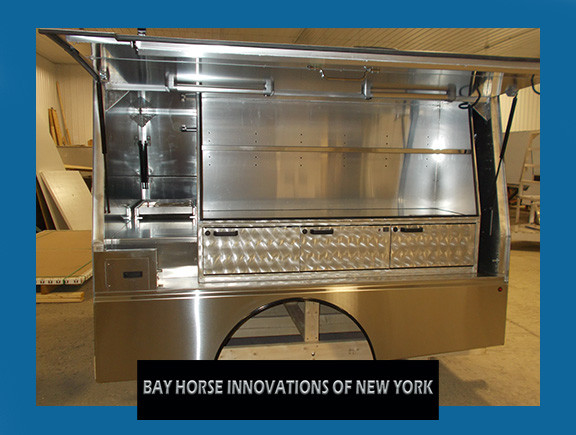 Bay Horse Innovations of New York custom contractor truck body