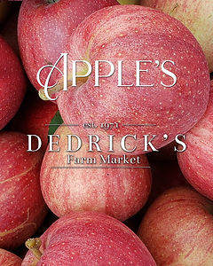 Dedrick's Farm Market Local Apples