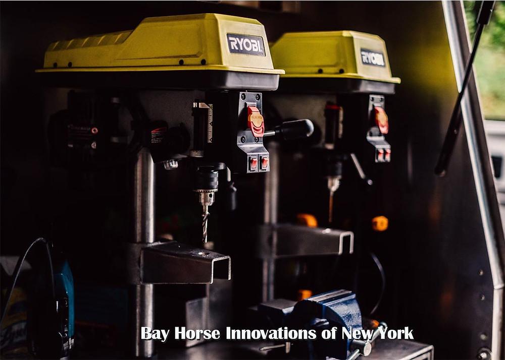 Custom Farrier trailer by Bay Horse Innovations of New York
