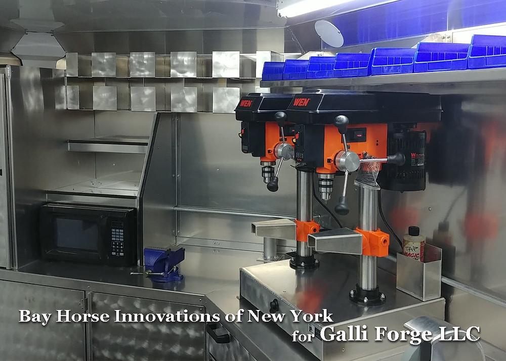 Custom Farrier rig by Bay Horse Innovations of New York