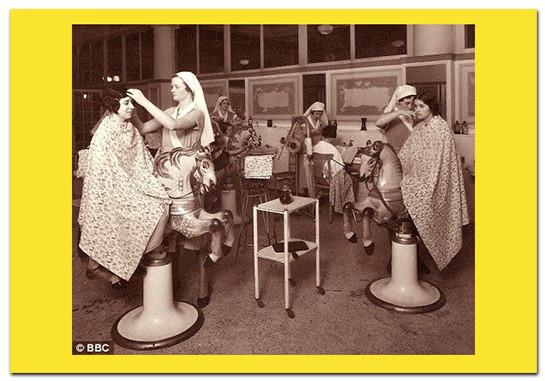 Selfridges salon BBC photo