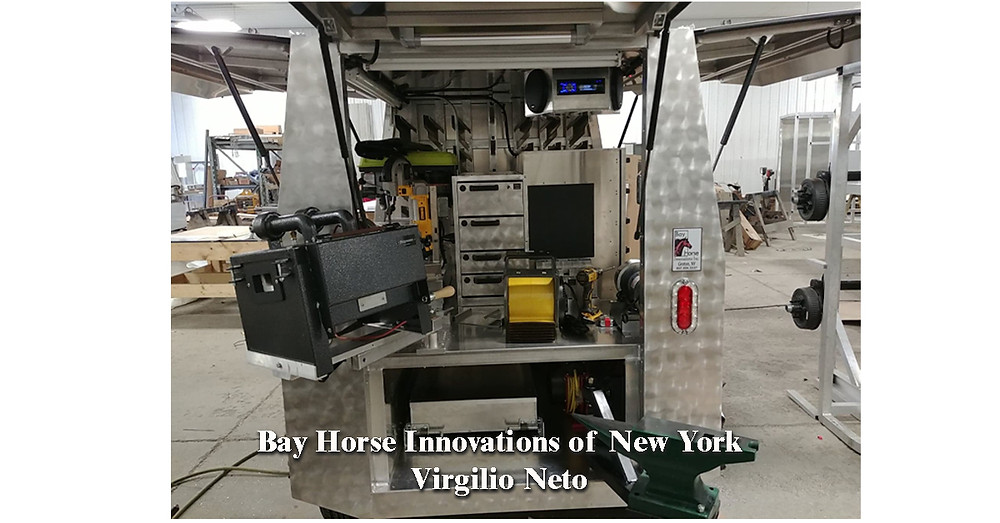 Custom Farrier Rig for Virgilio Neto by Bay Horse Innovations of New York