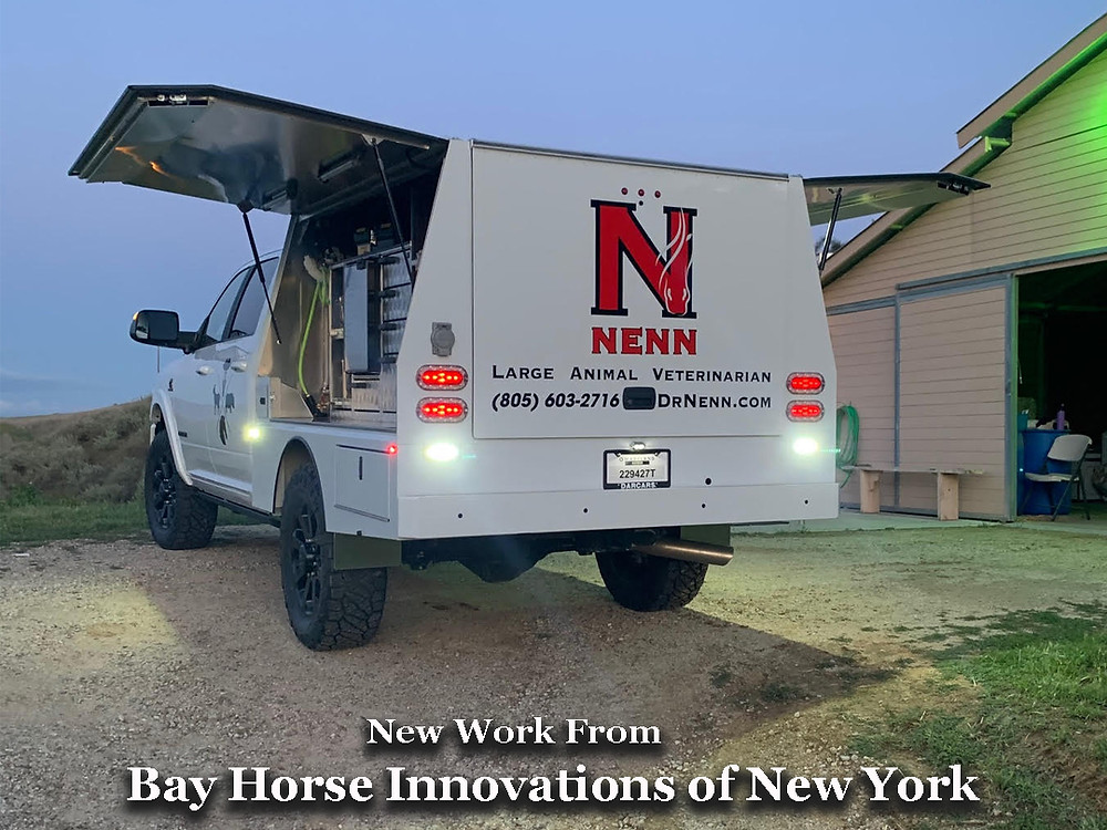 Custom Vet Rig by Bay Horse Innovations of New York