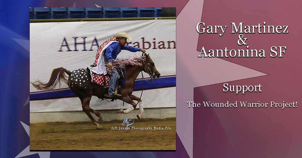 Aantonina SF and Gary Martinez #WWP