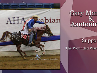 Supporting WWP-Gary Martinez